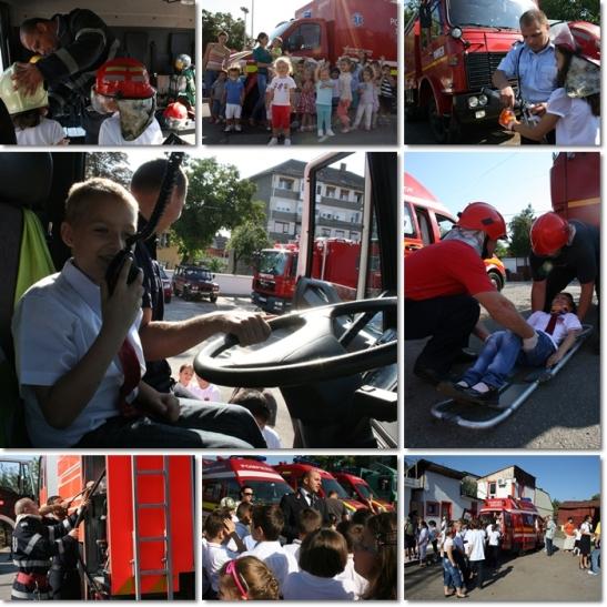 Activități ale pompierilor profesioniști.