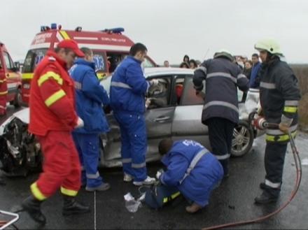Pompierii-SMURD Timișoara în acțiune