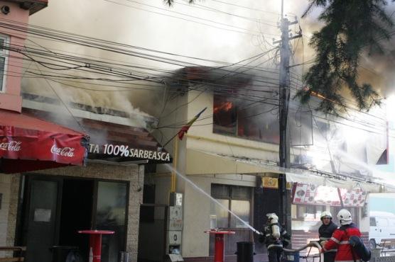 Incendiu Comple  studențesc Timisoara